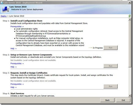 Lync marius sandbu it blog once that is done we can continue with the installation so back to the setup menu and choose setup or remove lync server components yadclub Images