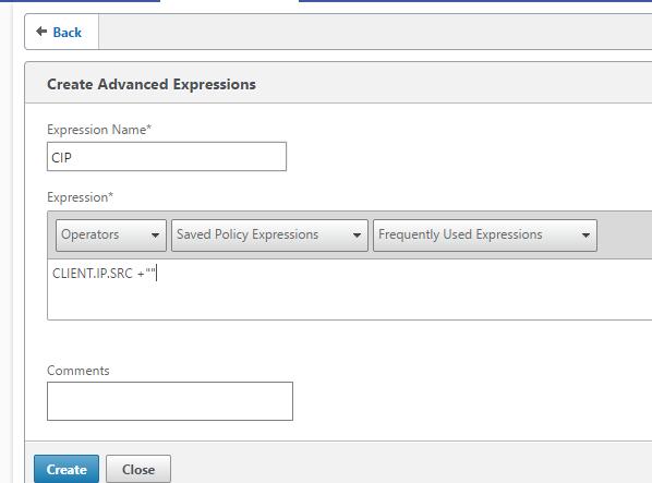 Using Netscaler to block IP adresses based upon pattern sets