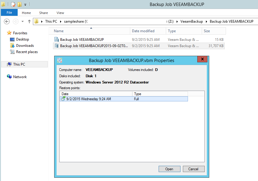 how to send files to a virtual machine